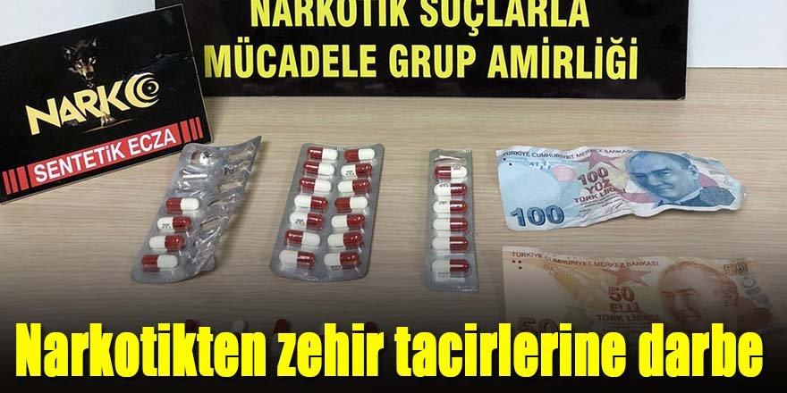 Ereğli uyuşturucuya 3 tutuklama
