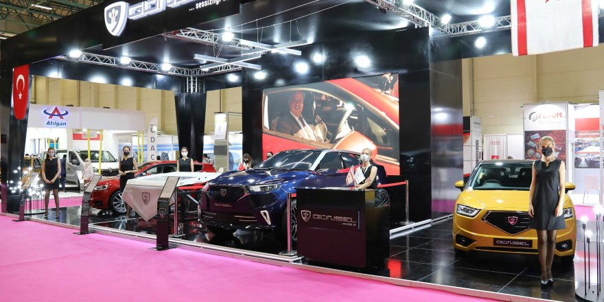 KTC'nin Yerli ve Milli Otomobili Günsel, Müsiad Expo'da Anavatanla Buluştu