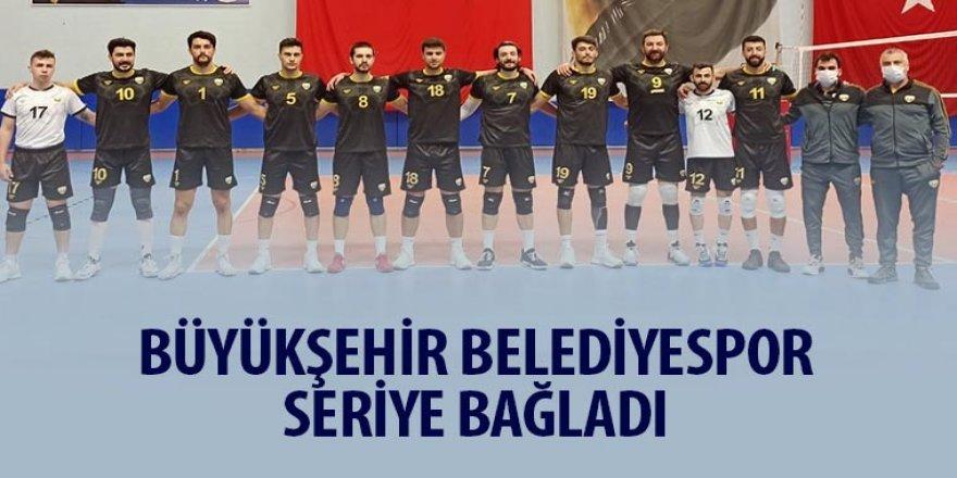 Büyükşehir Belediyespor Seriye Bağladı