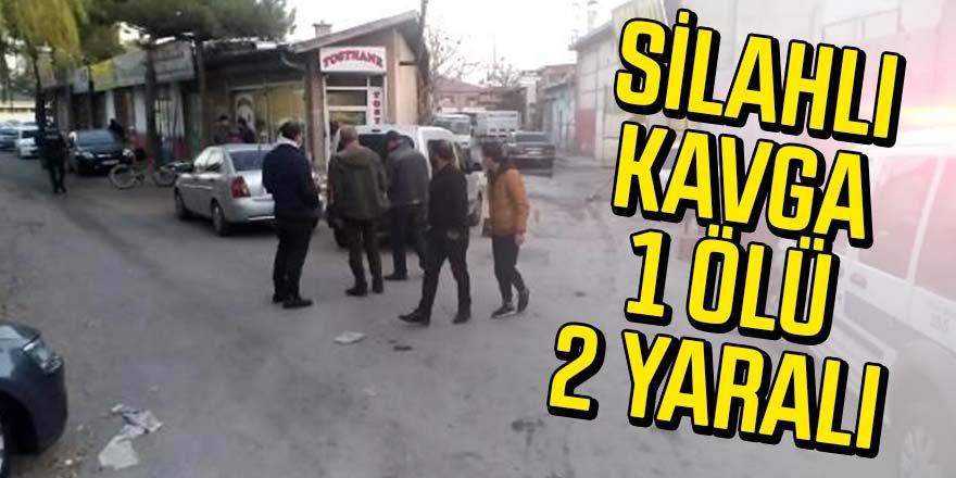 Oto yıkama dükkanında silahlı kavga: 1 ölü, 2 yaralı
