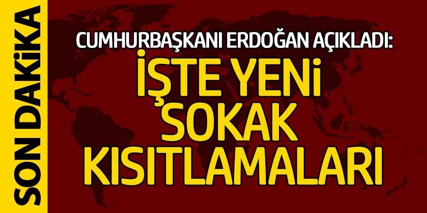 Cumhurbaşkanı Erdoğan, Kabine Toplantısının ardından açıklamalarda bulunuyor