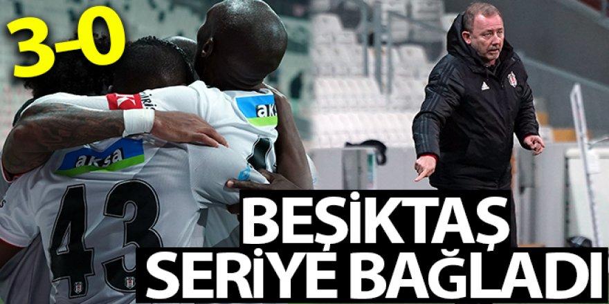 Beşiktaş Kasımpaşayı 3- 0 mağlup etti