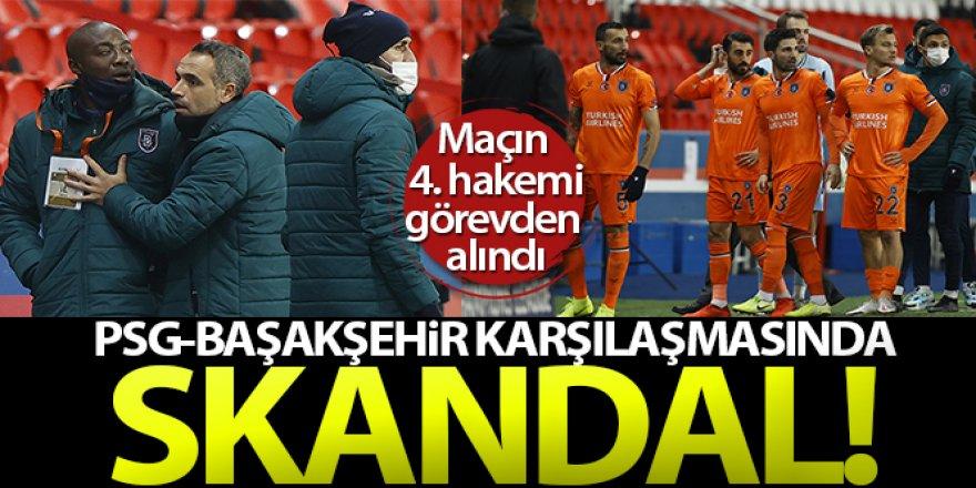 PSG - Başakşehir maçında Webo'ya ırkçılık!