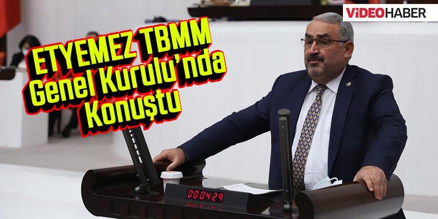 Milletvekili Halil Etyemez TBMM Genel Kurulu'nda Konuştu