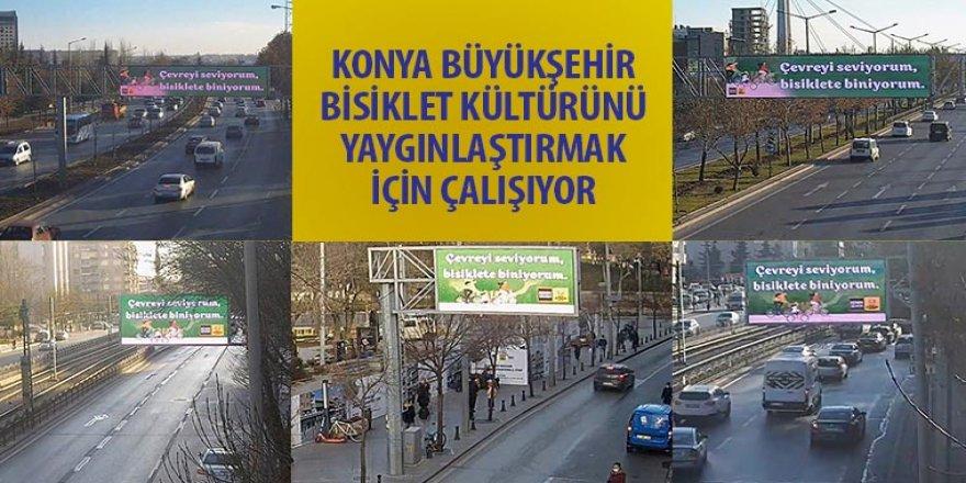 Konya Büyükşehir Bisiklet Kültürünü Yaygınlaştırmak İçin Çalışıyor