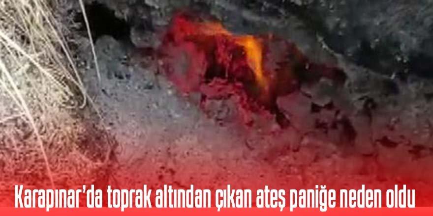 Karapınar'daki o ateş paniğe neden oldu
