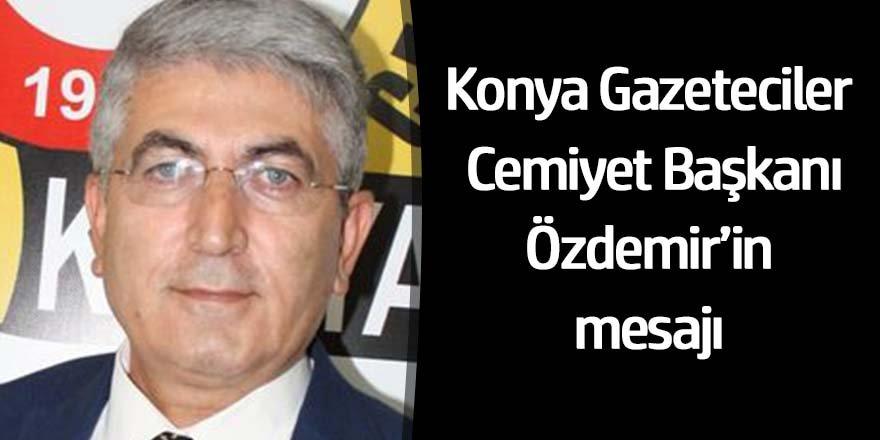 Başkan Özdemir: Sorunlarımız bir an önce çözüme kavuşturulmalı