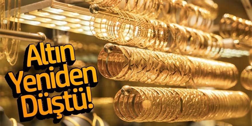 Altın Yeniden Düştü!