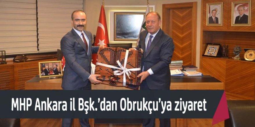 Milliyetçi Hareket Partisi Ankara İl Başkanı'ndan Başkan Oprukçu'ya ziyaret