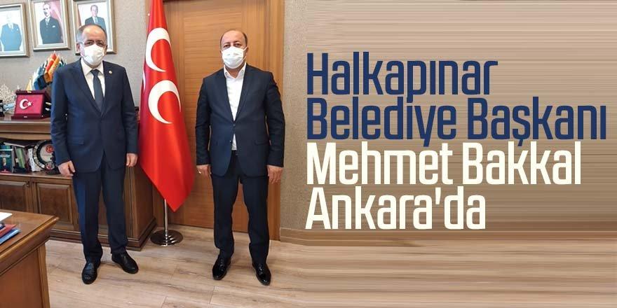 Başkan Bakkal'ın Ankara ziyareti
