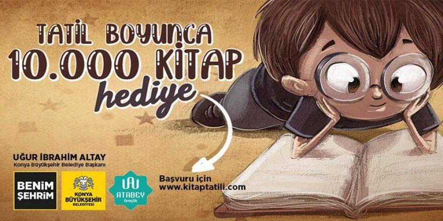 Büyükşehir'den Yarıyıl Tatilindeki Öğrencilere 10 Bin Kitap