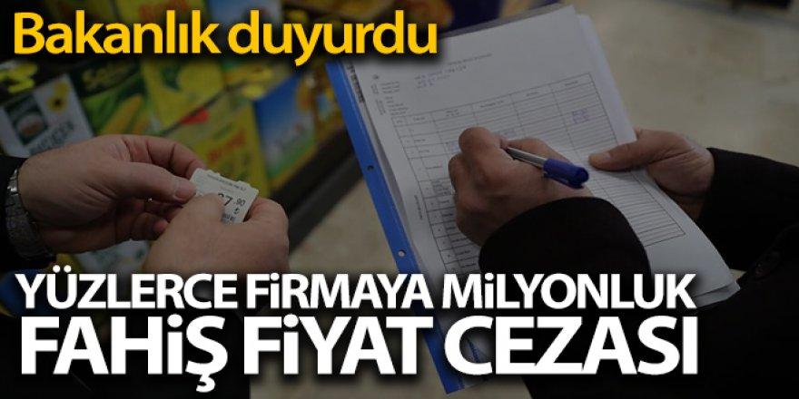 Haksız Fiyat Değerlendirme Kurulu 120 firmaya 3 milyon 595 bin lira idari para cezası verdi