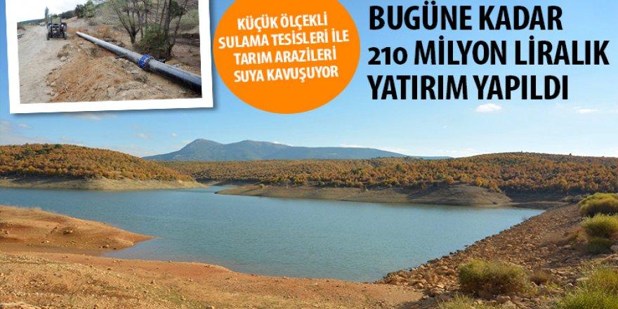 Küçük Ölçekli Sulama Tesisleri ile Tarım Arazileri Suya Kavuşuyor