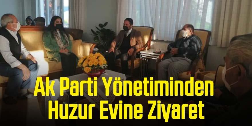 Ak Parti Yönetiminden Huzur Evine Ziyaret
