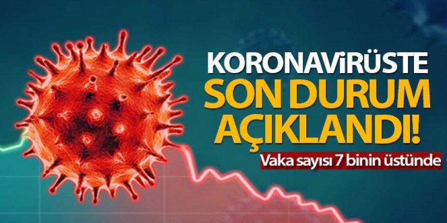 Türkiye'de son 24 saatte 7.419 koronavirüs vakası tespit edildi