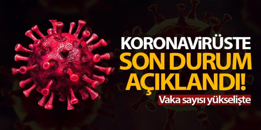 Türkiye'de son 24 saatte 7.857 koronavirüs vakası tespit edildi