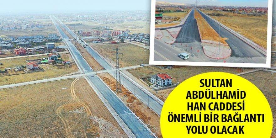 Sultan Abdülhamid Han Caddesi Önemli Bir Bağlantı Yolu Olacak