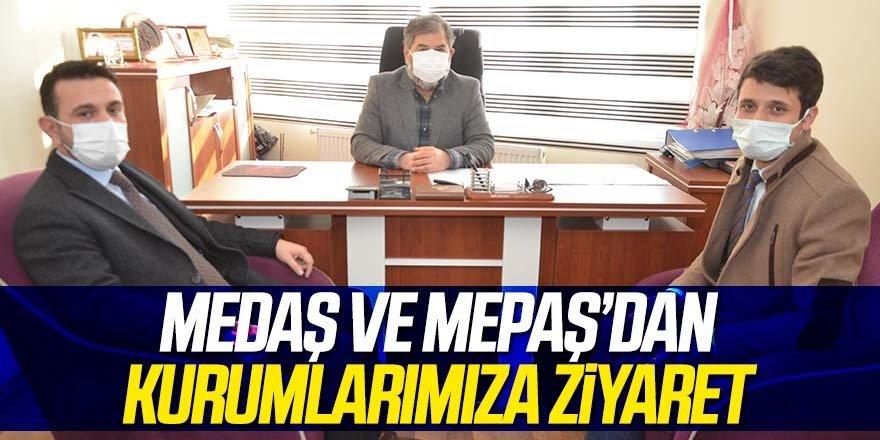 MEDAŞ ve MEPAŞ Müdürlerinden Gazetemize ziyaret
