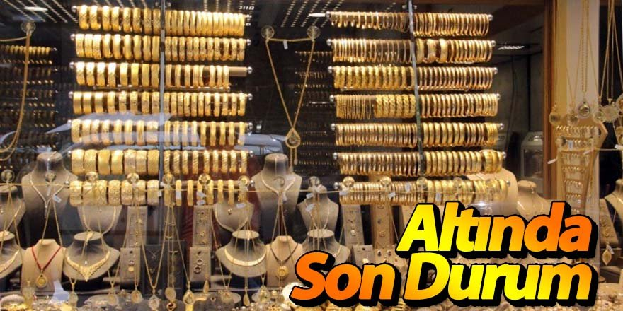 Altın fiyatlarında seyir devam ediyor
