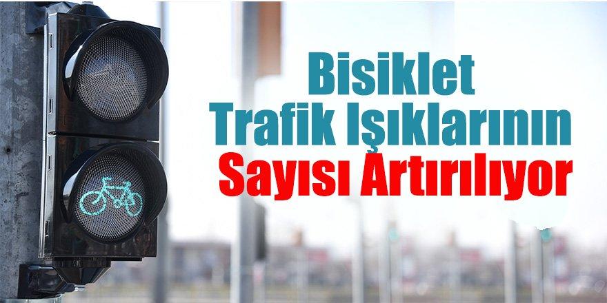 Bisiklet Şehri Konya'da Bisiklet Trafik Işıklarının Sayısı Artırılıyor