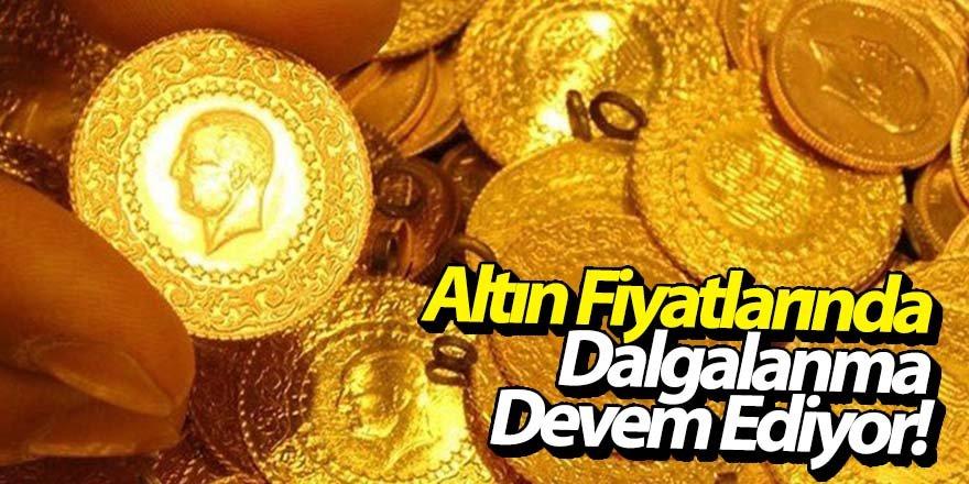 Altın fiyatları geriledi!