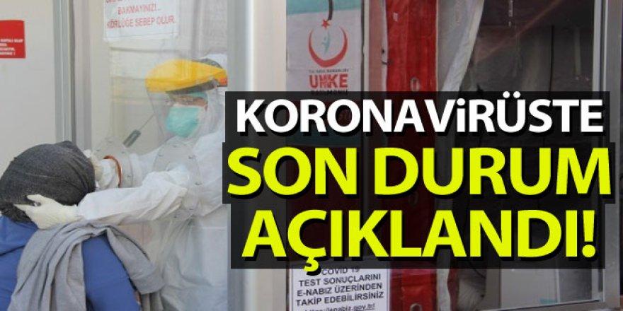 Koronavirüste son durum açıklandı!