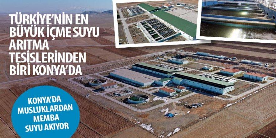 Türkiye'nin En Büyük İçme Suyu Arıtma Tesislerinden Biri Konya'da