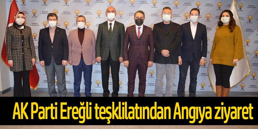 AK Parti yönetiminden Angıya ziyaret