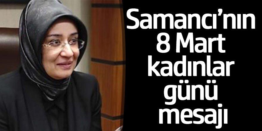 Ak Parti Konya Milletvekili Av. Gülay Samancı'nın 8 Mart Dünya Kadınlar Günü Açıklaması