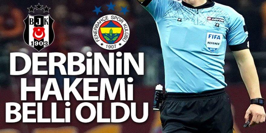 Beşiktaş-Fenerbahçe maçının hakemi belli oldu