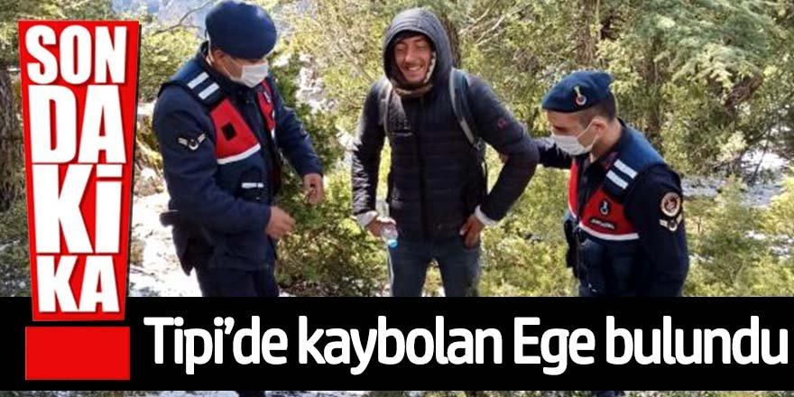 Tipide kaybolan Ege'ye 4'üncü günde ulaşıldı