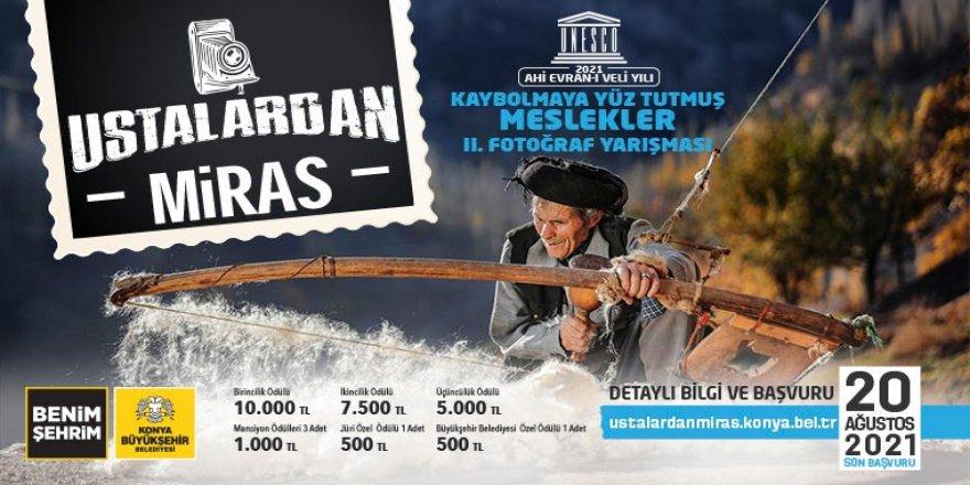 """Konya Büyükşehir'den """"Ustalardan Miras"""" Fotoğraf Yarışması"""