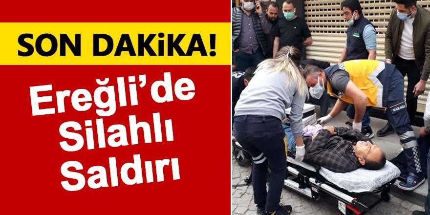 Ereğli'de silahlı saldırı!