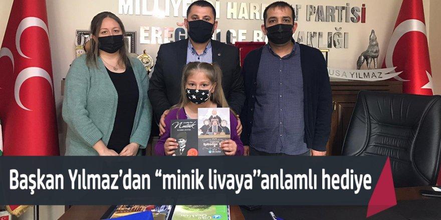 """Başkan YILMAZ """"MİNİK LİVAYI AĞIRLADI"""""""
