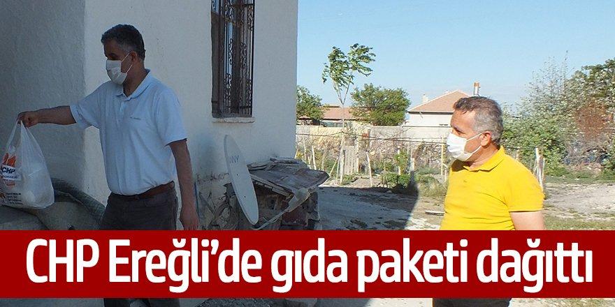 CHP'DEN 700 PAKETLİK GIDA YARDIMI