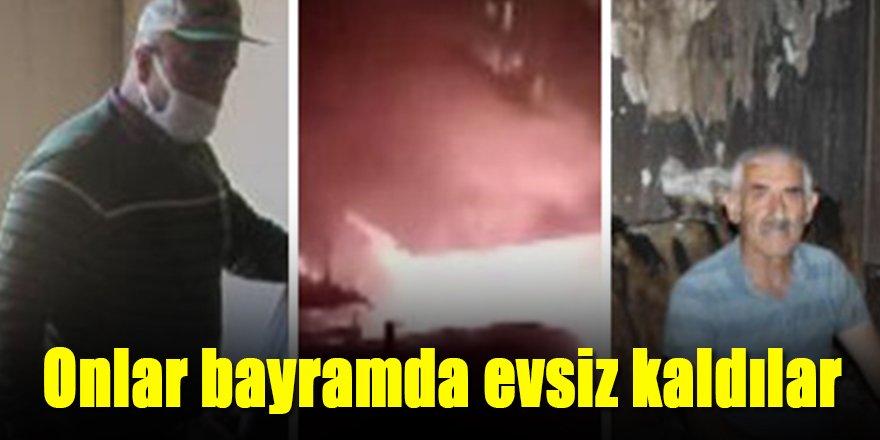 BAYRAMDA, EVSİZ KALDILAR