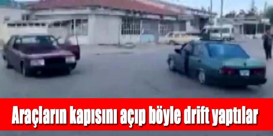 Drift yapan sürücülerin ehliyetine el koyuldu, 15 bin lira ceza kesildi