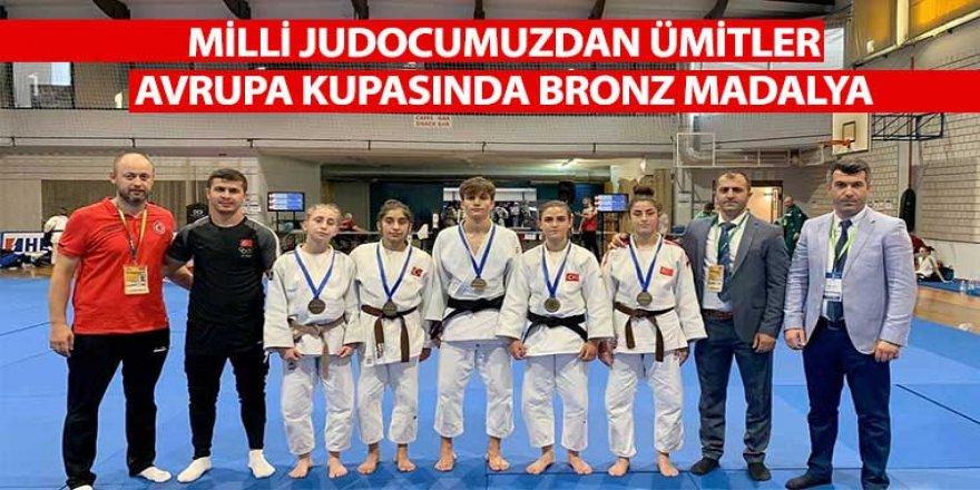 Milli Judocumuzdan Ümitler Avrupa Kupasında Bronz Madalya