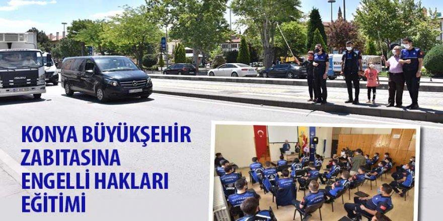 Konya Büyükşehir Zabıtasına Engelli Hakları Eğitimi