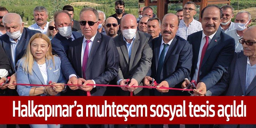 Halkapınar, ''Saybaşı Şehit Yüzbaşı Ercan Solak tesisleri hizmete açıldı