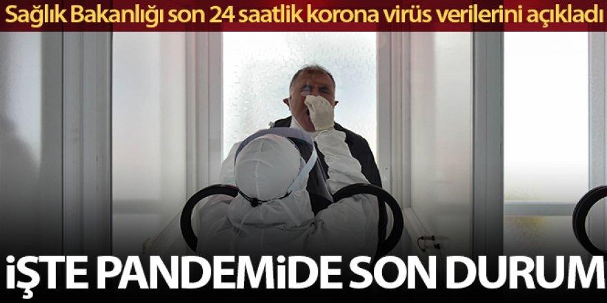Son 24 saatte korona virüsten 69 kişi hayatını kaybetti