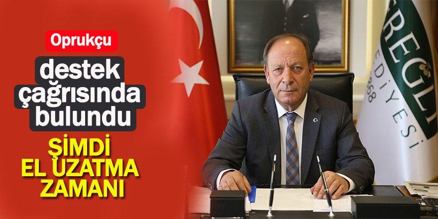 Başkan Oprukçu'dan yardım kampanyası açıklaması