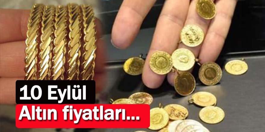 10 Eylül 2021 altın fiyatları