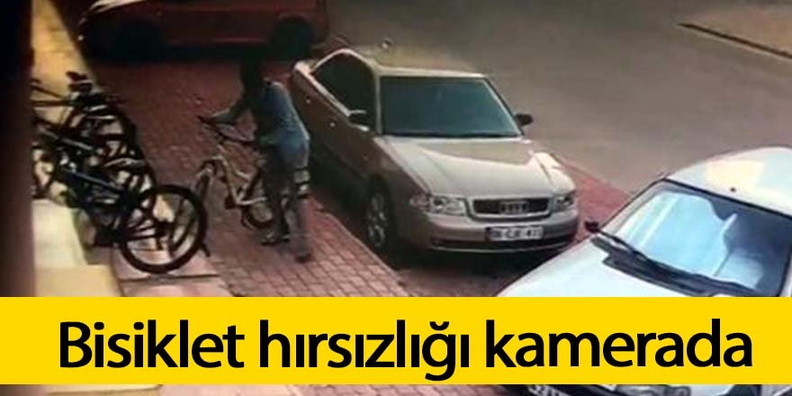 Bisiklet hırsızı polisin takibi sonunda yakalandı