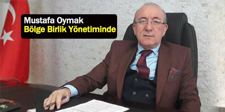 Mustafa Oymak Bölge Birlik Yönetimine Seçildi