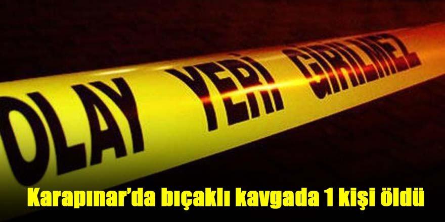 Karapınar'da bıçakla yaralanan kişi öldü