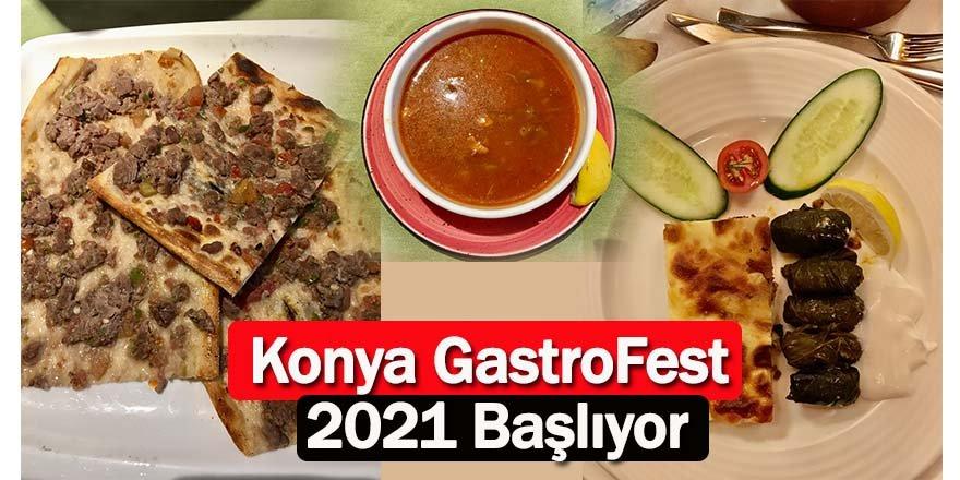 Konya GastroFest 2021 Başlıyor