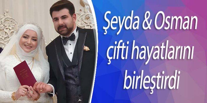 ŞEYDA & OSMAN ÇİFTİ DÜNYA EVİNE GİRDİ