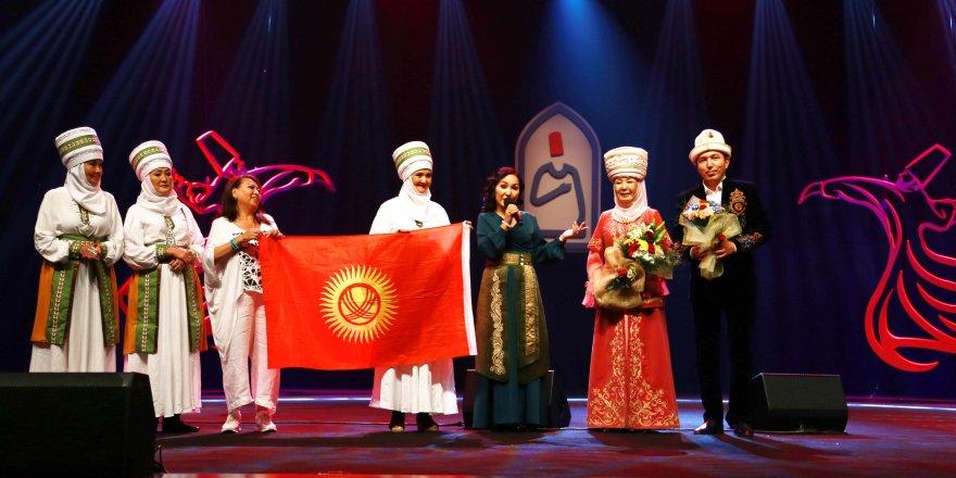 Kırgız Sanatçı'dan Cumhurbaşkanı Erdoğan'a Teşekkür