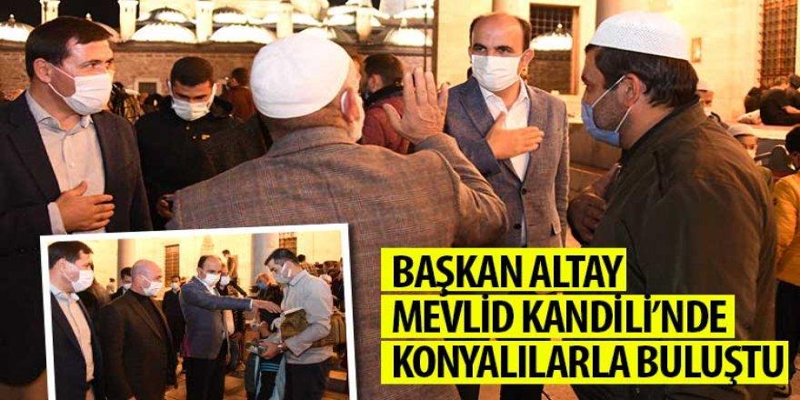 Başkan Altay Mevlid Kandili'nde Konyalılarla Buluştu